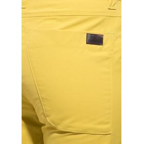 Jack Wolfskin Pomona Pants Women yellow moss